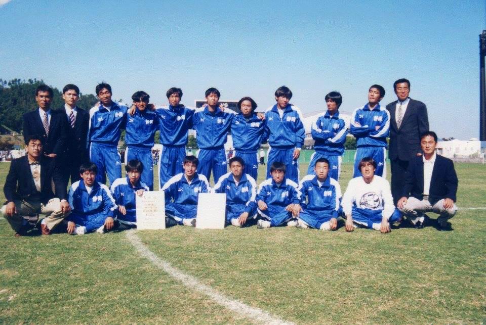 1996年の広島国体で優勝した静岡県選抜